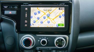 Honda Jazz - screen