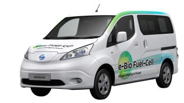 Nissan e-Bio Fuel Cell prototype vehicle front studio