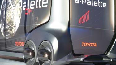 Toyota e-Palette - CES detail