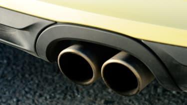 Porsche Boxster S exhausts