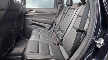 Jeep Grand Cherokee rear seats