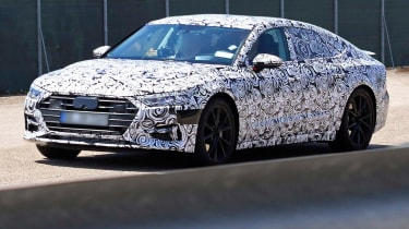 New Audi A7 spyshot - front