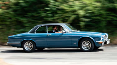 Jaguar XJ12 Series 2 Coupe side