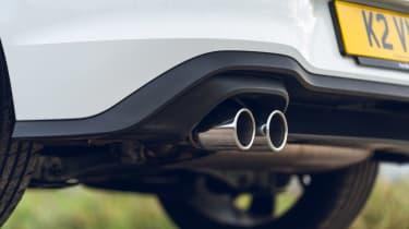 Volkswagen Golf GTD - exhausts