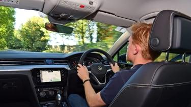Volkswagen Passat driving