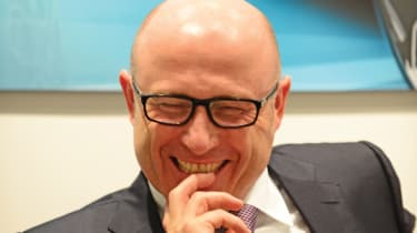 Bernhard Maier - laughing