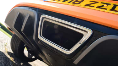 Renault Megane RS - exhaust
