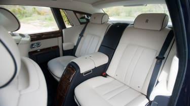 Rolls-Royce Phantom II rear seats