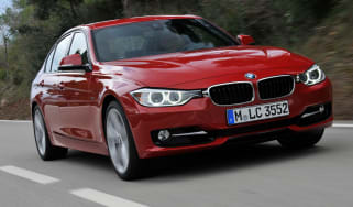 BMW 328i front tracking
