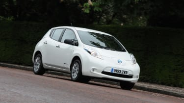 Used Nissan Leaf Mk1 - front action