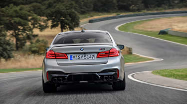 BMW M5 Competition - full rear
