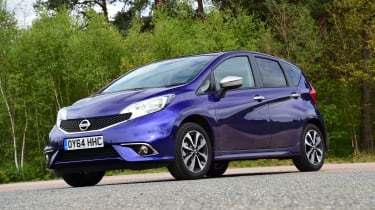 Nissan Note - static
