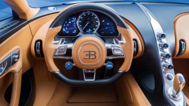 Bugatti Chiron - dash