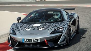 McLaren 620R - front tracking