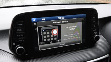 Hyundai Tucson - connectivity