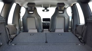 BMW i3s - boot seats down