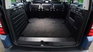 Citroen Berlingo 2016 - boot seats out