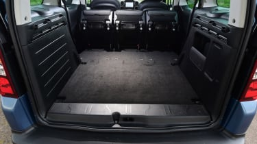 Citroen Berlingo 2016 - boot seats out