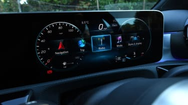 Mercedes A-Class long-term test review - instruments