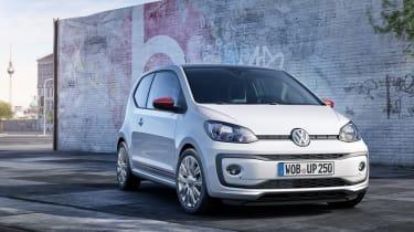 Volkswagen up! facelift 2016 - front quarter