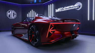 MG Cyberster concept - rear