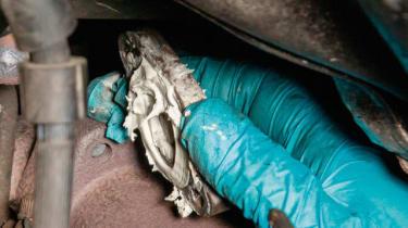 How to investigate TDV6 turbocharger noise - step 24