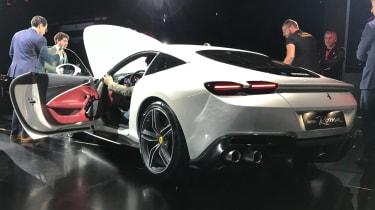 Ferrari Roma - reveal rear