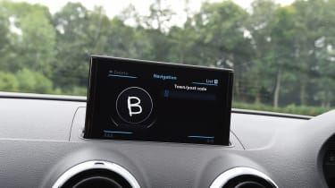 Audi RS3 - infotainment screen