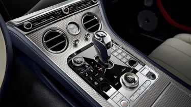 Bentley Continental GT Mulliner Convertible - centre console