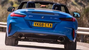 BMW Z4 - rear cornering