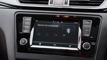 Skoda Rapid Spaceback - infotainment