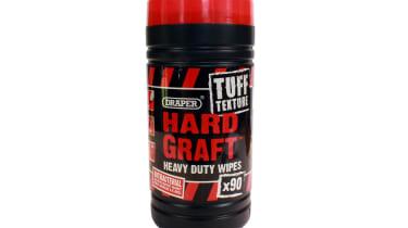 Draper Tuff Texture Hard Graft Heavy Duty Wipes