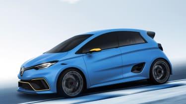 Renault ZOE e-sport - side tracking