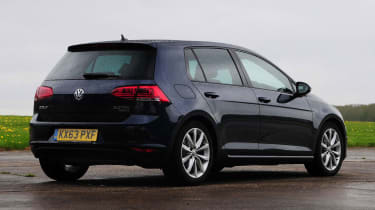 VW Golf - rear static