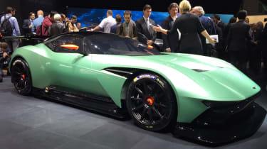 Aston Martin Vulcan at Geneva - front