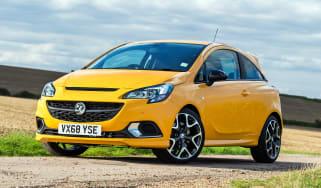 Vauxhall Corsa GSi - front static