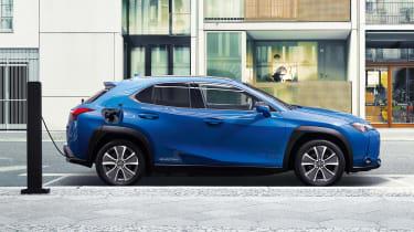 Lexus UX 300e - side