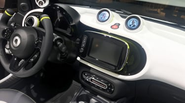 Smart ForEase concept - interior