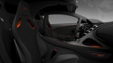 Bugatti Chiron Supersport 300+ -interior