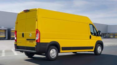 Vauxhall Movano-e - rear action