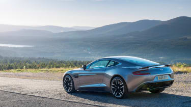 Aston Martin Vanquish 2014 rear static