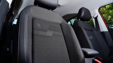 Volkswagen T-Cross Black Edition - front seat