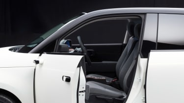 Honda e prototype camera mirror door
