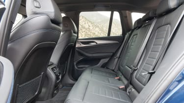 BMW X3 - rear seats