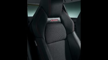 2018 Suzuki Swift Sport seats