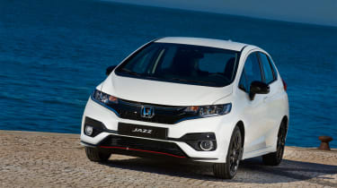 Honda Jazz facelift - front static