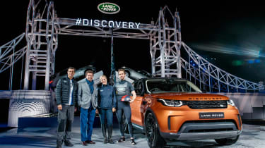 Land Rover Discovery launch - Posing