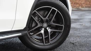 Mercedes GLC Coupe - wheel detail