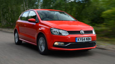 VW Polo - front tracking