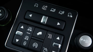 Land Rover Discovery XXV buttons